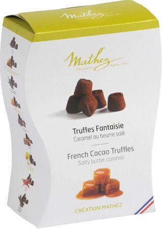 Schokoladentrüffel (Truffes Fantaisie) mit gesalzenem Karamell 250 g - Mathez – Bild 1