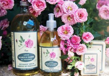Flüssigseife Rose 500 ml - Marius Fabre – Bild 2