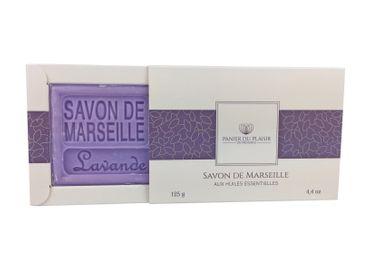 Savon de Marseille Lavendel (Lavande) 125 g - Panier du Plaisir – Bild 1