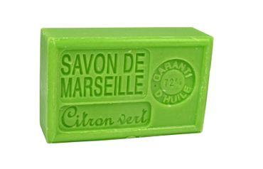 Savon de Marseille Limette (Citron Vert) 125 g - Panier du Plaisir – Bild 3