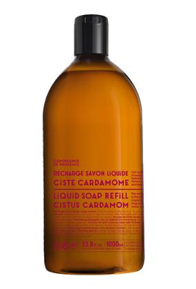 Flüssigseife Zistrose-Kardamom 1 Liter Nachfüllflasche - Compagnie de Provence – Bild 1