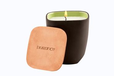Edle Duftkerze 'Prickelnde Zitrusfrüchte' 190 g im Keramikgefäß von Revol - Durance – Bild 1