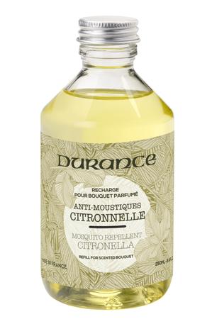 Nützliches Duftbouquet 'Anti-Mücken Citronella' (gegen Mücken) 250 ml Nachfüllflasche - Durance – Bild 1