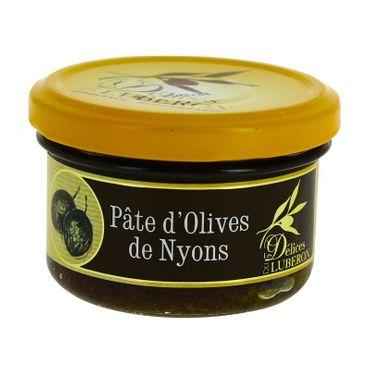 Paste mit Oliven aus Nyons (Pâte d'Olives de Nyons) 90 g - Les Délices du Luberon – Bild 1