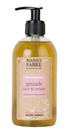 Flüssigseife Kirschblüte-Granatapfel 400 ml - Marius Fabre – Bild 1