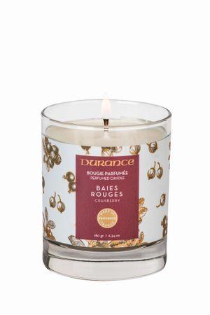 Duftkerze Rote Beeren 180 g (Weihnachtsedition) - Durance – Bild 1