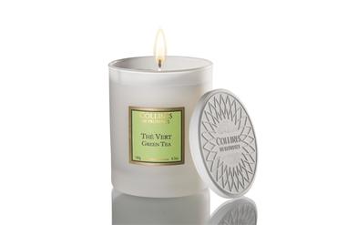 Duftkerze mit Deckel Grüner Tee 180 g - Collines de Provence – Bild 1