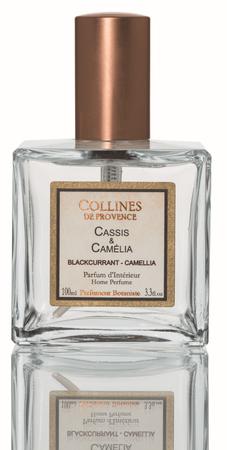 Raumspray Johannisbeere & Kamelie 100 ml - Collines de Provence – Bild 1