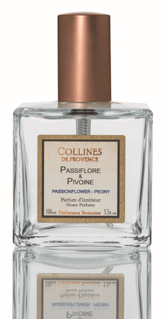 Raumspray Passionsblume & Pfingstrose 100 ml - Collines de Provence – Bild 1