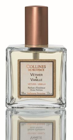 Raumspray Vetiver & Vanille 100 ml - Collines de Provence – Bild 1