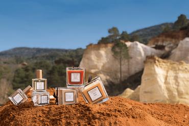 Duftkerze Sandelholz & Safran 200 g - Collines de Provence – Bild 3