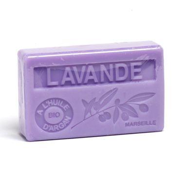 Arganölseife Lavendel 100 g - La Maison du Savon de Marseille – Bild 1