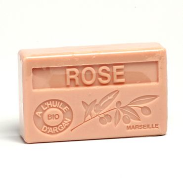 Arganölseife Rose 100 g - La Maison du Savon de Marseille – Bild 1
