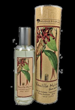 Eau de Toilette Schwarze Vanille 100 ml - Provence et Nature – Bild 1