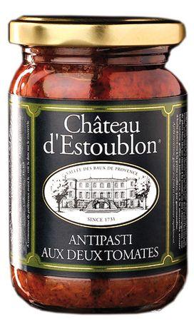 Antipasti mit 2 verschiedenen Tomatensorten (Antipasti aux deux tomates) 140 g - Château d'Estoublon