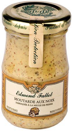 Senf mit Walnuss 105 g - Edmond Fallot – Bild 1