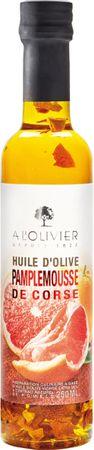 Olivenöl mit rosa Grapefruit in der Glasflasche 250 ml - A l'Olivier – Bild 1