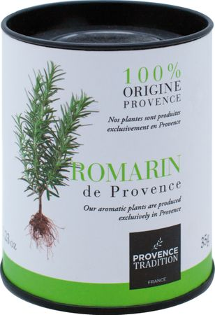 Rosmarin in der Zylinder-Box 35 g - Provence Tradition – Bild 1