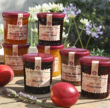 Konfitüre mit 4 roten Früchten 370 g - Confit de Provence – Bild 2
