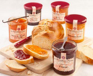 Konfitüre mit Wassermelone und Zitronenschale 370 g - Confit de Provence – Bild 3