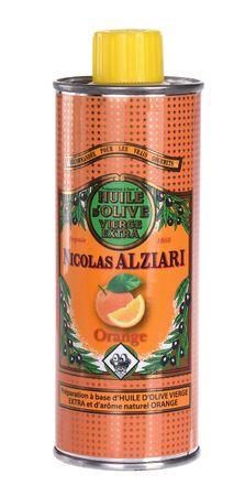 Olivenöl mit Orange 250 ml - Nicolas Alziari – Bild 1