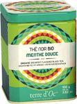 Schwarzer Bio Tee mit Minze (Thé noir menthe douce) in dekorativer Metalldose 100 g - Terre d'Oc 001