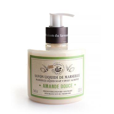 Flüssigseife süße Mandel 330 ml - La Maison du Savon de Marseille – Bild 1
