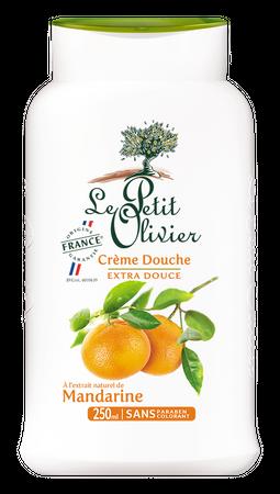 Duschcreme Mandarine 250 ml - Le Petit Olivier – Bild 1