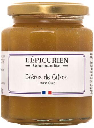 Zitronencreme (Crème de Citron) 320 g - L'Epicurien – Bild 1