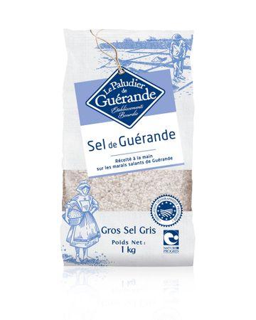 Grobes Meersalz aus der Guerande (Sel de Guerande) 1 kg - Le Paludier de Guerande – Bild 1