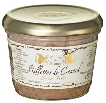 Enten-Rillettes 180 g - Beauharnais