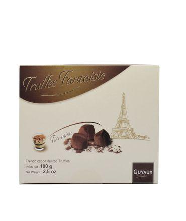 Schokoladentrüffel (Truffes Fantaisie) mit Tiramisu 100 g - Chocolaterie Guyaux – Bild 1
