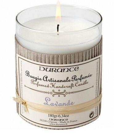 Duftkerze Lavendel 180 g - Durance – Bild 1