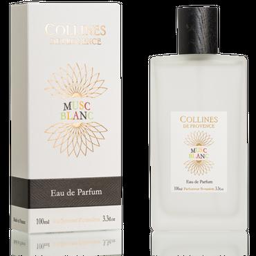 Eau de Parfum Weißer Moschus 100 ml - Collines de Provence – Bild 1