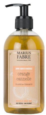 Flüssigseife Zimt-Orange 400 ml - Marius Fabre – Bild 1