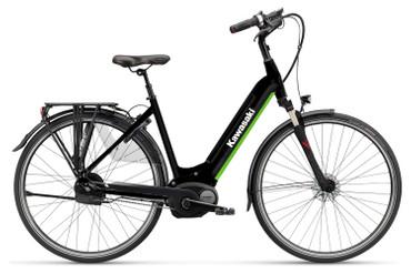 KAWASAKI KBC 2.0 L Citybike schwarz Bosch-Antrieb