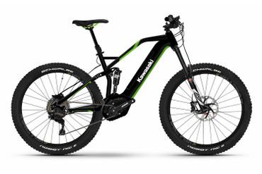 KAWASAKI KBX 4.0 Full Suspension Mountain Bike 27.5+ grün Bosch-Antrieb