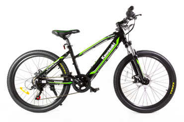 KAWASAKI Teen E-Bike 24""