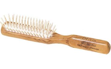 Redecker Olivenholz  Haarbürste lang