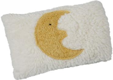 Bio Baby Kirschkernkissen Mond