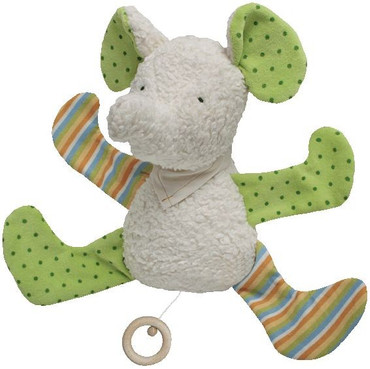 Bio Baby Spieluhr Elefant bunt