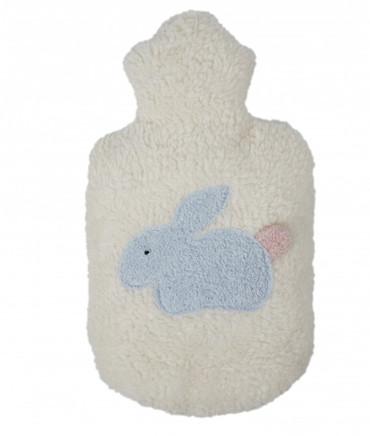 Kinder Wärmflasche Hase Plüsch