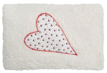 Mini Bio Dinkelkissen Herz rot