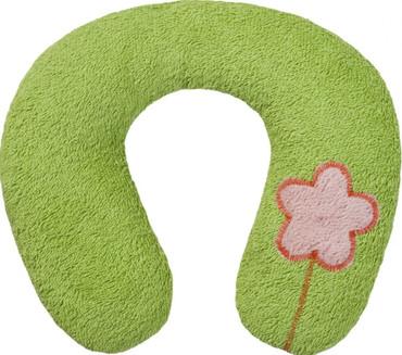 Bio Kinder Nackenkissen grün - ab 9 Mon.