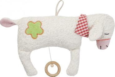 Efie Bio Spieluhr Schaf mit Halstuch