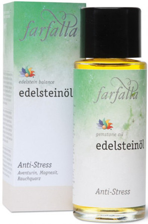 Farfalla Edelsteinöl Anti Stress 80ml