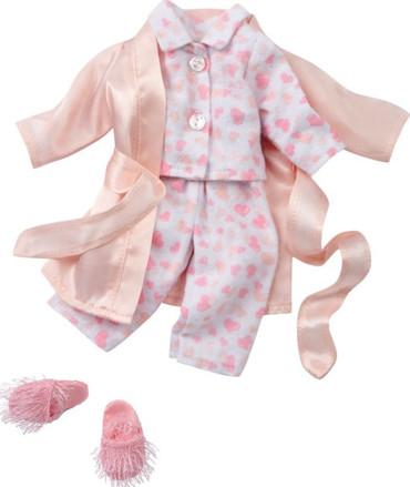 Götz Puppenschlafanzug, Morgenmantel - Stehpuppe 25-30cm – Bild 1