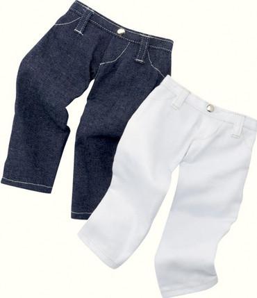 Götz Puppenhose Jeans - Stehpuppe 25-30 cm – Bild 1