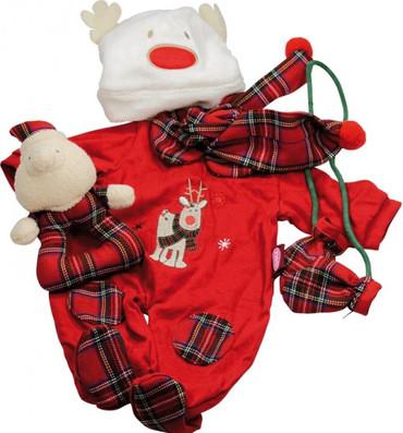 Götz Puppenanzug Christmas Set - Puppen 30-33 cm