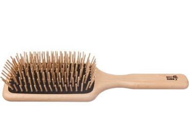 Kostkamm Holzbürste Paddle Brush